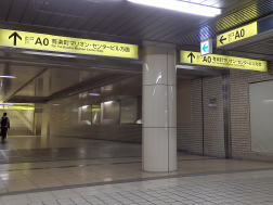 from the Hibiya station 1