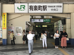 Jfrom the Yurakucho station 1